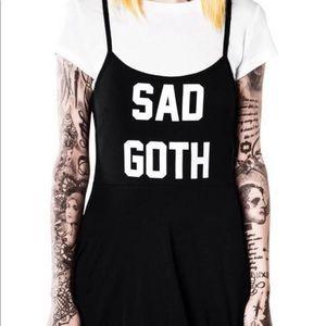 RARE! Killstar Sad Goth 90's style dress BNWT.